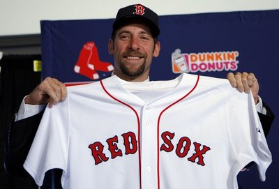 John Smoltz will finally pull on a Red Sox jersey tonight