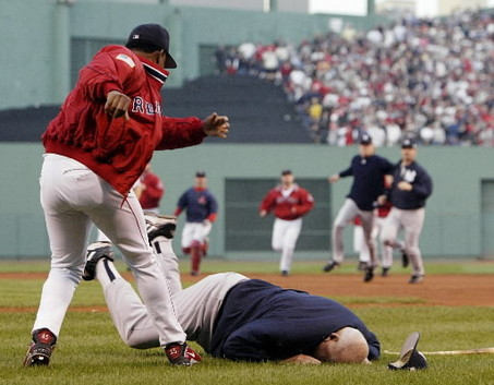 The Yankees and their fans are the Don Zimmer to our Pedro