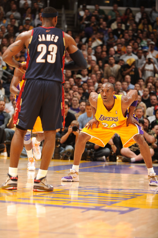 Kobe still stands between LeBron and NBA superiority