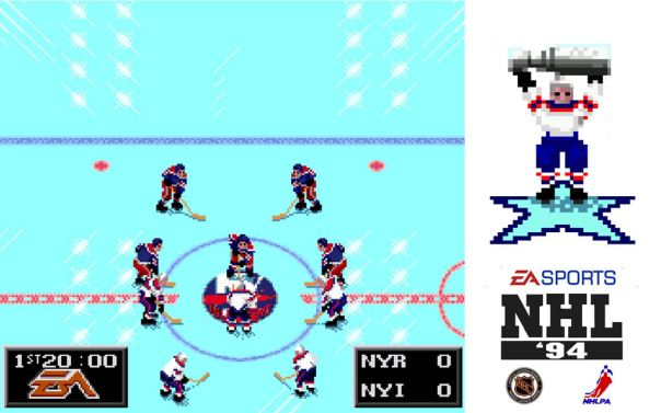 NHL 94 is the best sports video game ever