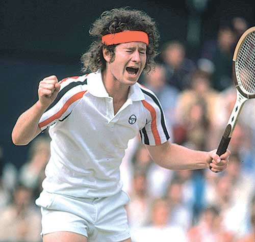 Johnny Mac is one of tennis' legendary characters
